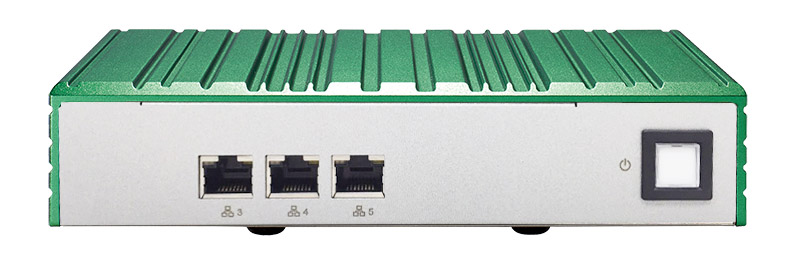 Qseven, fanless box, ethernet